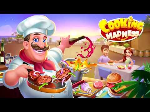 เกมทำอาหาร Cooking madness เสิร์ฟลูกค้า การ์ตูน เกม kids game