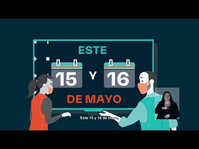 ¡Tú eliges qué día votar! Este 15 o 16 de mayo, vota de forma segura