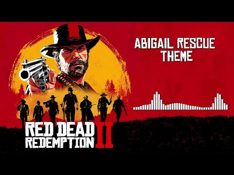 Red Dead Redemption 2  Soundtrack - Abigail Rescue Theme   With Visualizer