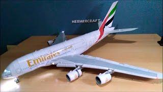 Emirates A380800 Papercraft