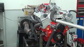 SBC 514HP 383 STROKER ENGINE DYNO RUN FOR JOHN SPARKS BY WHITE PERFORMANCE AND MACHINE