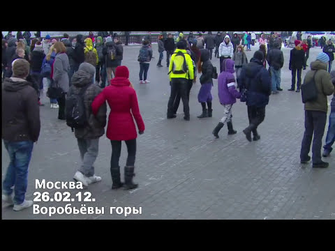 Puttin On The Ritz by a Russian Flash Mob