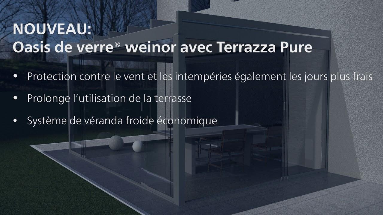 Weinor Glasoase Terrazza Pure Film