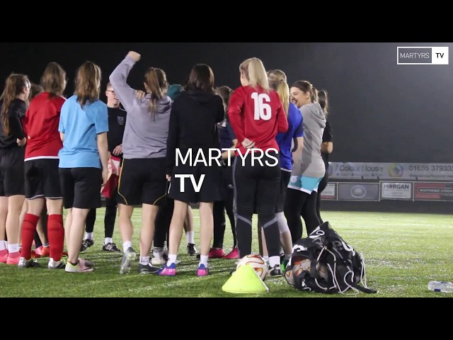 Women's football at Merthyr Town keeps on growing