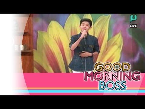 [Good Morning Boss] Performing Live: Michael Tañeca [04|17|15]
