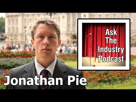 EP61 - Jonathan Pie - The power of political satire on social media