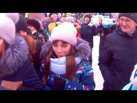 Заволжск. Масленица 2018 (отрывок из фильма)