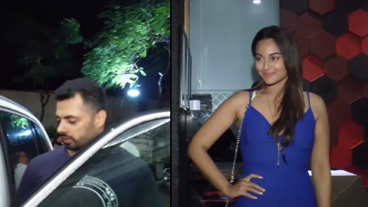 Sonakshi Sinha spotted with boyfriend Bunty Sajdeh at ...