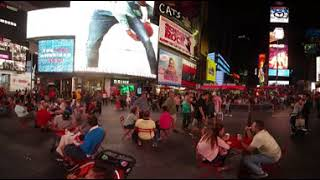 360 Video Time Lapse of Times Square