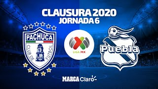 Pachuca Vs Puebla Partido Completo | Liga Mx | Jornada 6 | Clausura 2020
