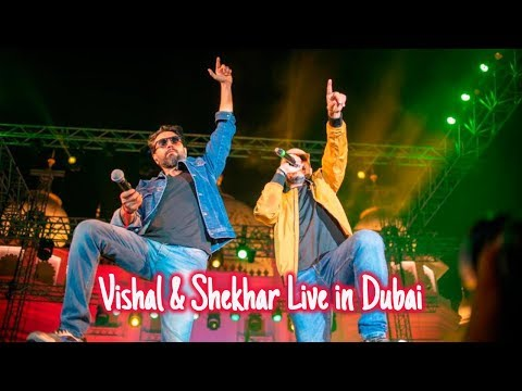 Vishal And Shekhar Live In Dubai Bollywood Parks