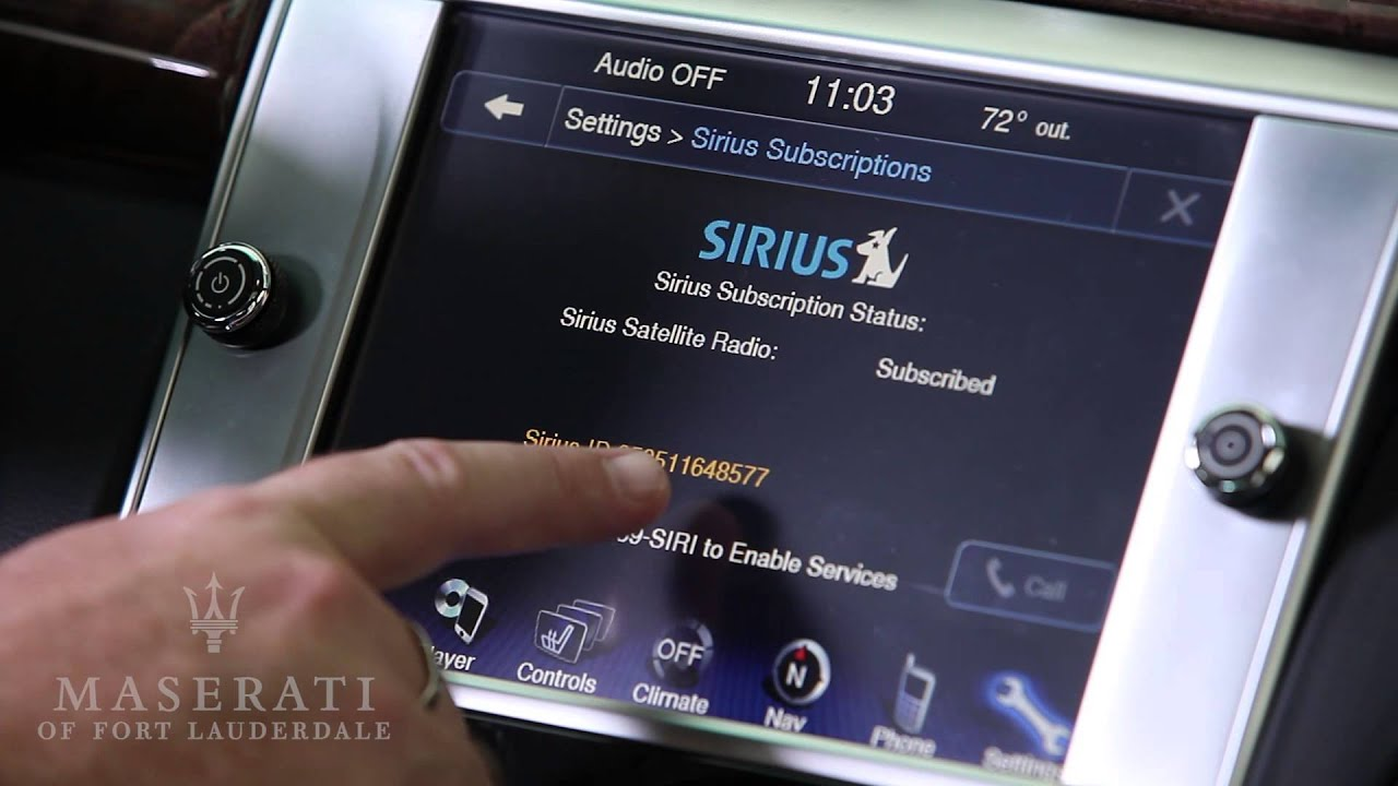 Why is sirius radio up dating. i have been dating a guy for 4 months.