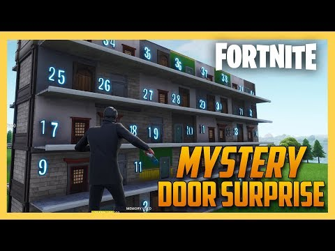 Mystery Door Surprise mini-game in Fortnite Creative! Mp3