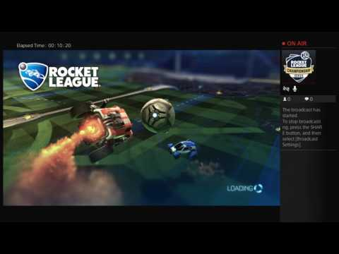 Rocket league attack