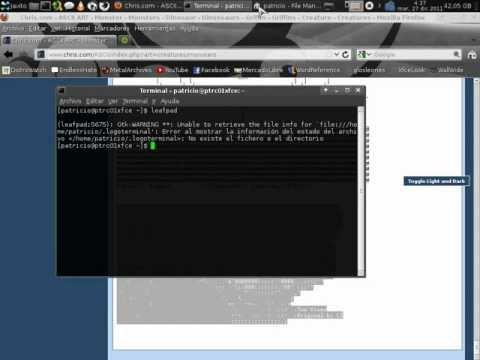 Personalizar Terminal Linux Con Dibujo ASCII