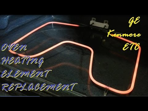 Oven Heating Element Replacement GE Kenmore ETC Ranges - YouTube