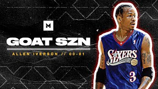 Allen Iverson 2000-01 MVP Season Highlights - THE ANSWER! | GOAT SZN YouTube Videos