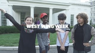 West Wing Week: 10/07/16 or, Were At The White House!