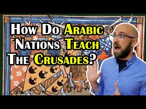 How do Arabic Nations Teach the Crusades?
