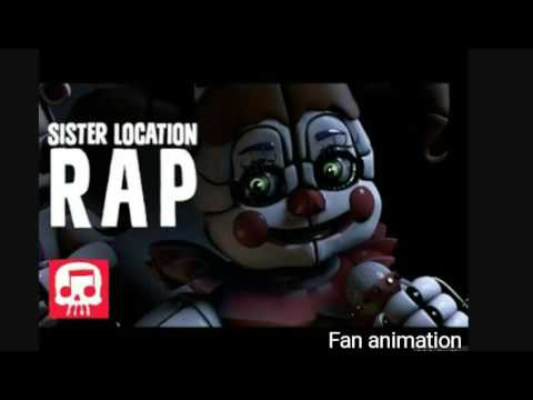 "Download FNAF SISTER LOCATION RAP by JT Machinima - ""You Belong Here"""