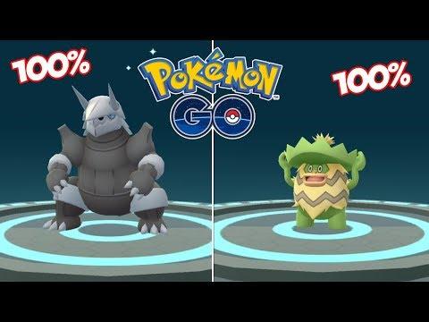 EVOLUCIONANDO MIS 100% IVS! AGGRON, LUDICOLO Y MUCHOS MÁS! [Pokémon GO-davidpetit]