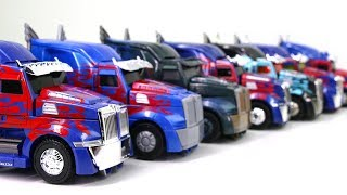 transformers 5 tlk 4 aoe leader optimus prime ko oversized optimus prime 7 vehicle car robot toys
