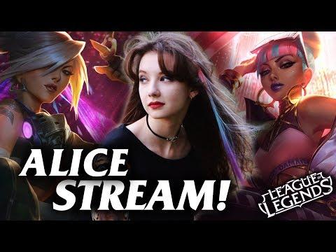 🔥Играем с нервами Алисы🔥→ League of Legends Stream / Лига Легенд стрим