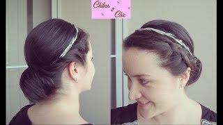 DIY! Braided Updo | Chikas Chic