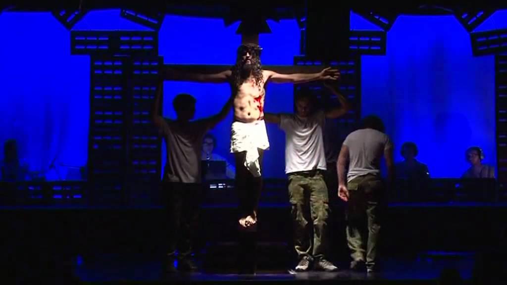 Jesus Christ Superstar Falling From The Cross Jove