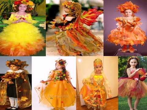 Праздник осени платье для девочки своими руками