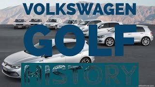 History Of Volkswagen Golf (1974-2020)