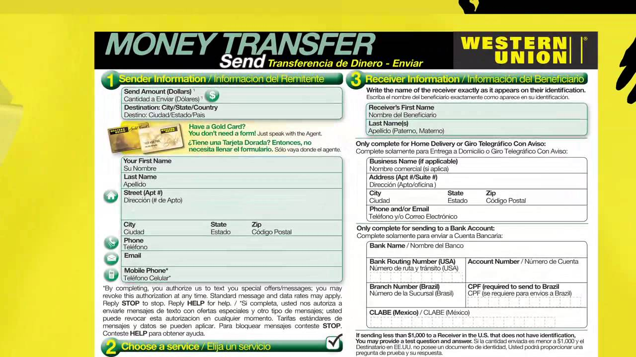 How to Send Money in Person with WesternUnion