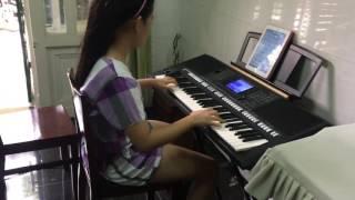 Dạy học sinh 11 tuổi đệm đàn bài duyên phận -vĩnh lộc A-Bình Tân
