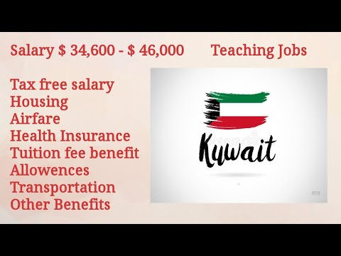 #Overcome Teaching Jobs In Kuwait || How To Apply || Salary