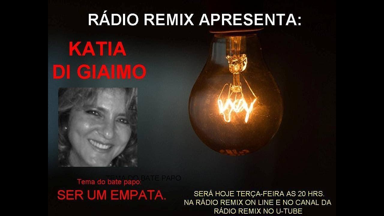 Empatas e Narcisistas – hoje 20/02/18 às 20 horas ao vivo na Rádio Remix on line