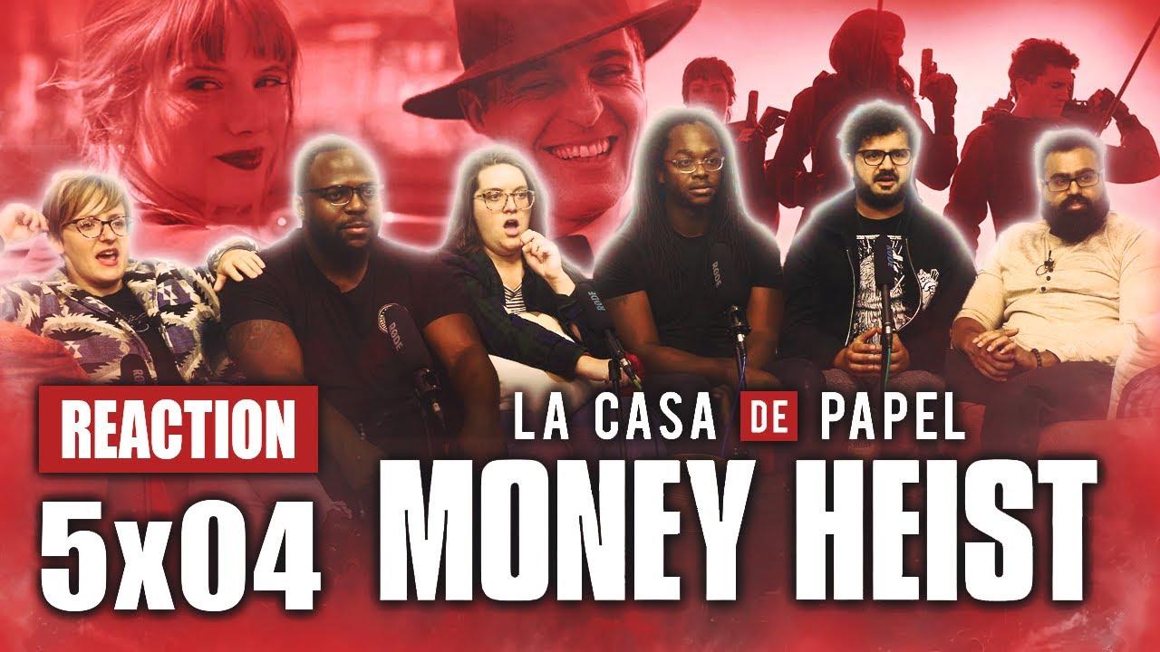Download La Casa De Papel (Money Heist) - 5x4 Tu sitio en el cielo - Group Reaction