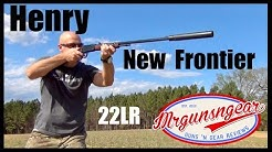 Henry 22LR Frontier Model With Factory Threaded Barrel For Suppressors! (HD)