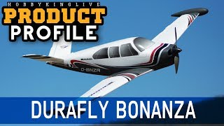 "Durafly Bonanza 950mm (37.4"") V-Tail Pnf - Hobbyking Product Profile"