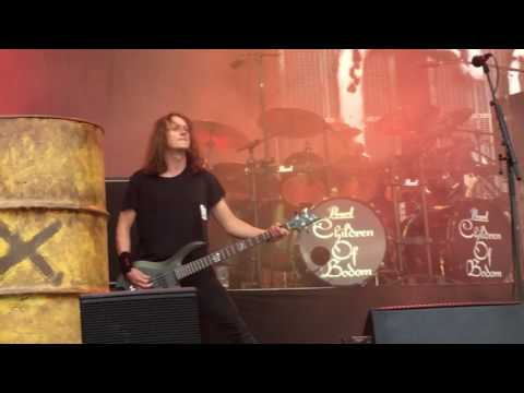 Children Of Bodom - Lookin' Out My Back Door (C.C.R. cover) Live @ Tuska Open Air 3/7/2016