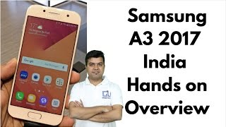 Samsung A3 2017 [Unboxing & Review] (and plug in SIM Card).