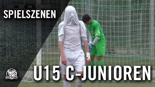 Eintracht Frankfurt - Kickers Offenbach (U15 C-Junioren, Hessenliga) - Spielszenen   MAINKICK.TV