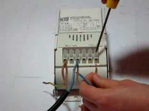 hqdefault branchement d'un ballast eti 250w fleursdubien youtube parmar ballast wiring diagram at mifinder.co