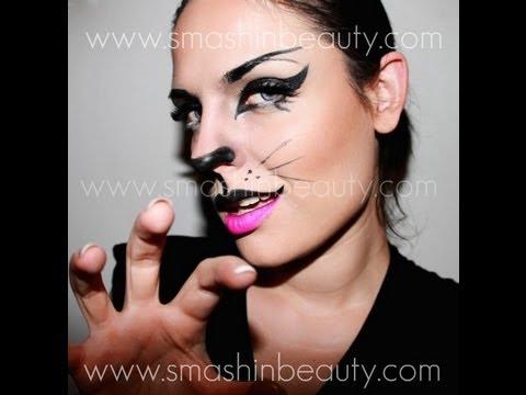 Trucco Halloween Catwoman.Sexy Catwoman Halloween Makeup Tutorial 2016