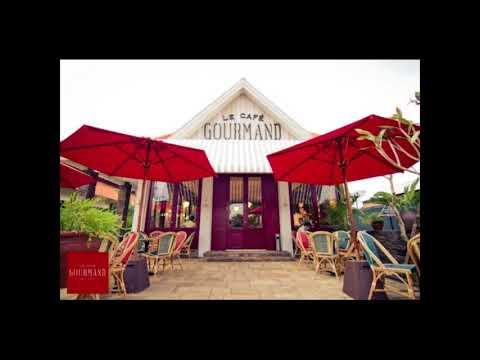 concept of interior and exterior cafe design as creative idea by le gourmand cafee