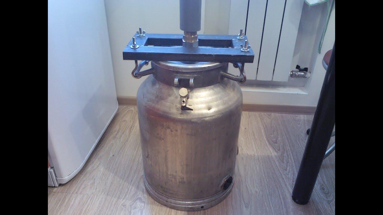 Самогонный аппарат из молочного бидона с тэном самогонный аппарат магарыч купить оптом от производителя