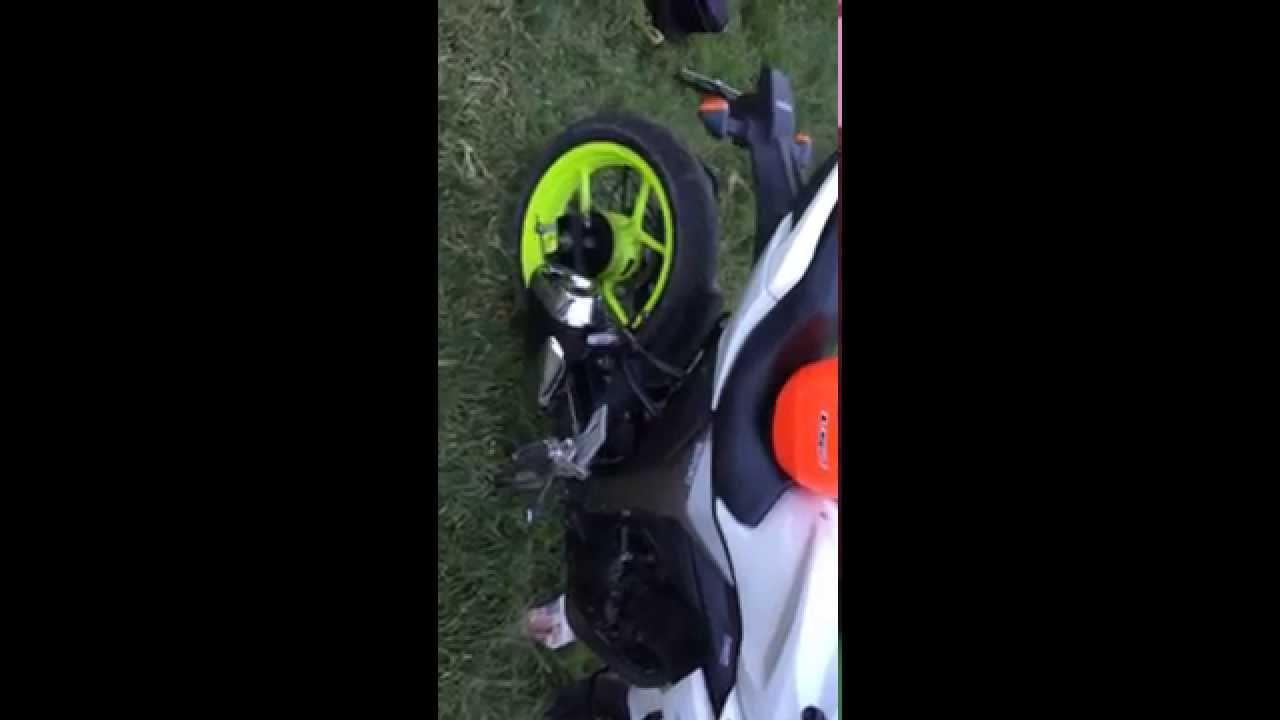 Suzuki Gixxer Modified First Review At Victoria Memorial By Vikash Sf Black