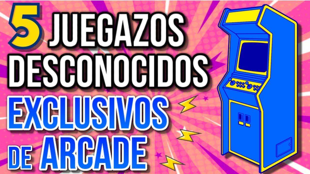 5 JOYAS OCULTAS que SOLO PODES JUGAR EN ARCADES! (MAME)
