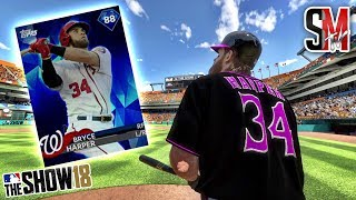 Bryce Harper Hits A Monster Homerun - Ranked Seasons - MLB The Show 18 Gameplay