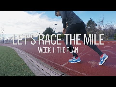 1500/1600 meter Training | Lets Race The Mile || Episode 1
