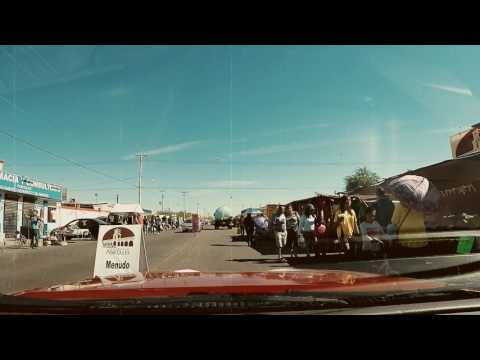 Sunday morning vintage tour Los Portales Tianguis Mexicali